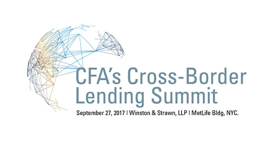 CFA Cross Border Lending Summit